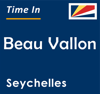 Current time in Beau Vallon, Seychelles