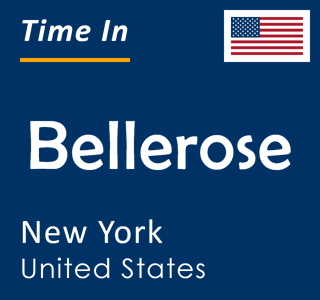 Current time in Bellerose, New York, United States