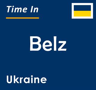 Current time in Belz, Ukraine
