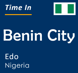 Current time in Benin City, Edo, Nigeria