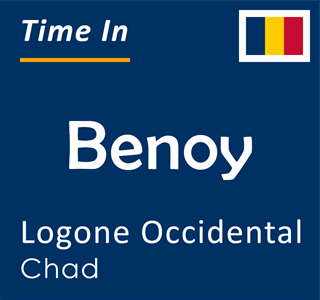 Current time in Benoy, Logone Occidental, Chad