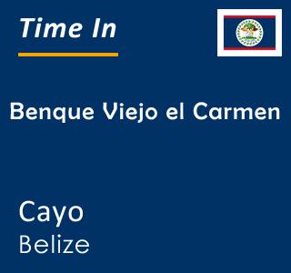 Current time in Benque Viejo el Carmen, Cayo, Belize