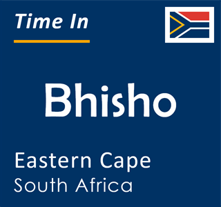 Current time in Bhisho, Eastern Cape, South Africa