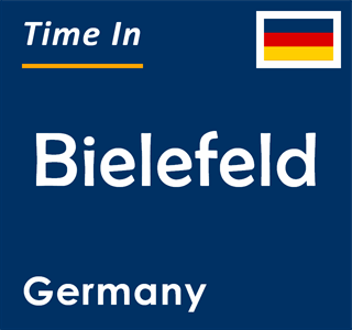 Current time in Bielefeld, Germany