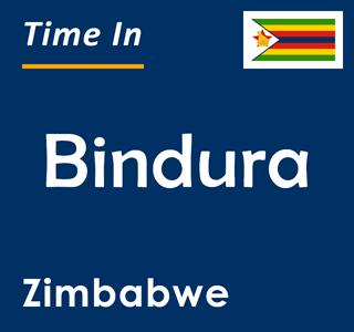 Current time in Bindura, Zimbabwe