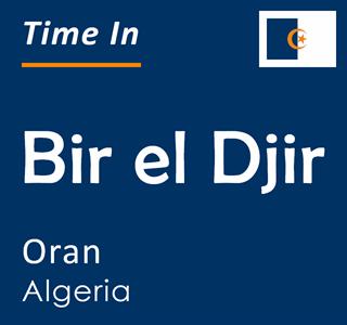 Current time in Bir el Djir, Oran, Algeria