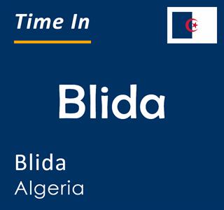 Current time in Blida, Blida, Algeria