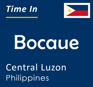 Current time in Bocaue, Central Luzon, Philippines