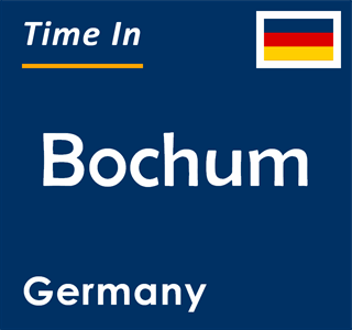 Current time in Bochum, Germany