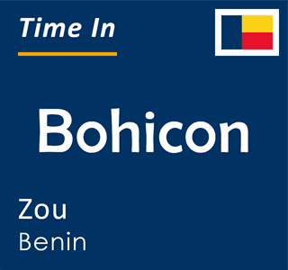Current time in Bohicon, Zou, Benin