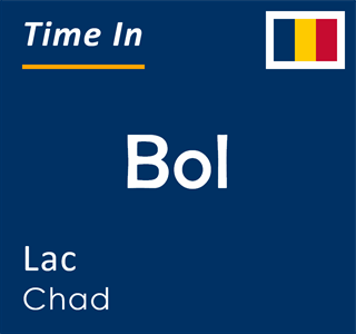 Current time in Bol, Lac, Chad