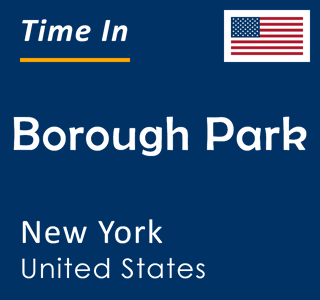 Current time in Borough Park, New York, United States