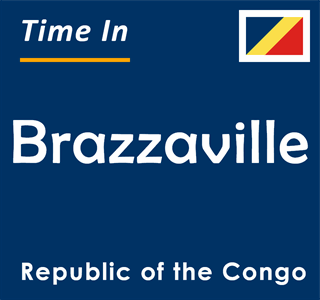 Current time in Brazzaville, Republic of the Congo