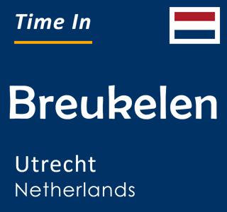 Current time in Breukelen, Utrecht, Netherlands