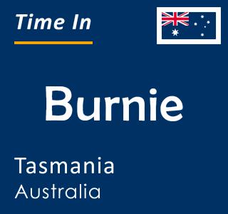 Current time in Burnie, Tasmania, Australia