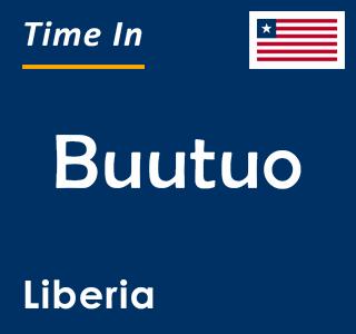 Current time in Buutuo, Liberia