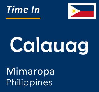 Current time in Calauag, Mimaropa, Philippines