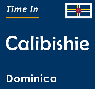 Current time in Calibishie, Dominica