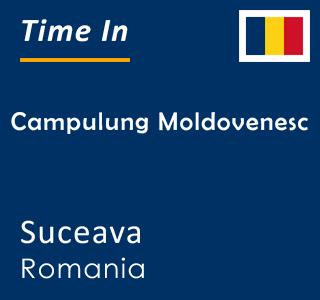 Current time in Campulung Moldovenesc, Suceava, Romania