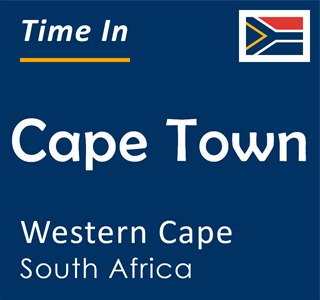 Current time in Cape Town, Western Cape, South Africa
