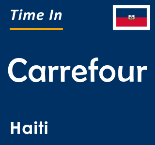 Current time in Carrefour, Haiti