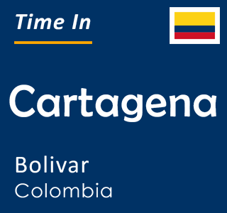 Current time in Cartagena, Bolivar, Colombia