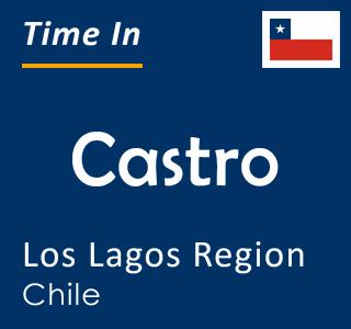 Current time in Castro, Los Lagos Region, Chile