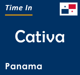 Current time in Cativa, Panama