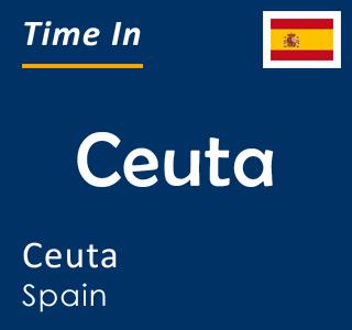 Current time in Ceuta, Ceuta, Spain
