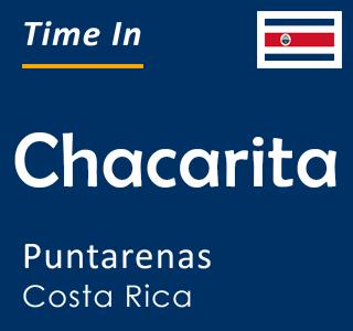 Current time in Chacarita, Puntarenas, Costa Rica