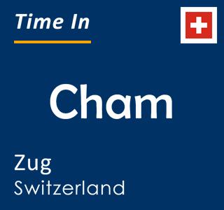 Current time in Cham, Zug, Switzerland