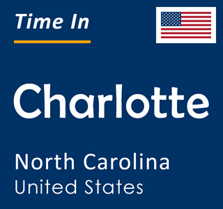 Current time in Charlotte, North Carolina, United States