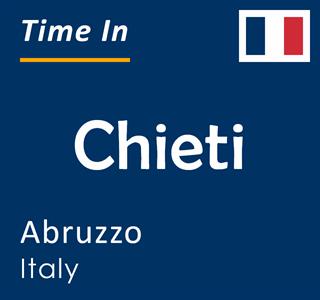 Current time in Chieti, Abruzzo, Italy