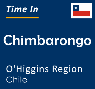 Current time in Chimbarongo, O'Higgins Region, Chile