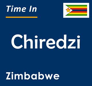 Current time in Chiredzi, Zimbabwe