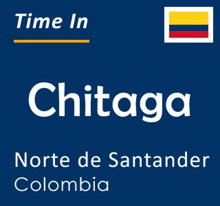 Current time in Chitaga, Norte de Santander, Colombia