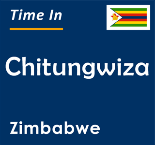 Current time in Chitungwiza, Zimbabwe