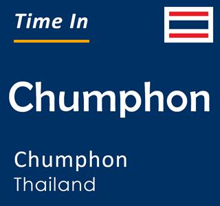 Current time in Chumphon, Chumphon, Thailand