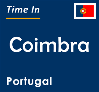 Current time in Coimbra, Portugal