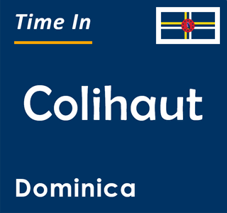 Current time in Colihaut, Dominica