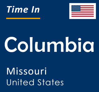 Current time in Columbia, Missouri, United States