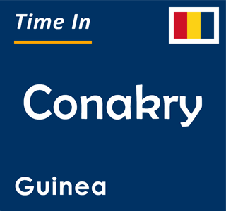 Current time in Conakry, Guinea