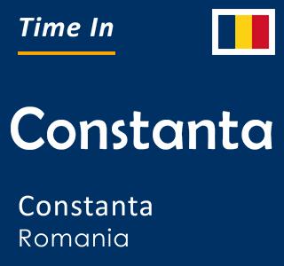Current time in Constanta, Constanta, Romania