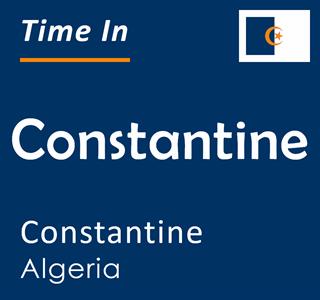 Current time in Constantine, Constantine, Algeria