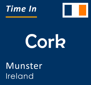 Current time in Cork, Munster, Ireland