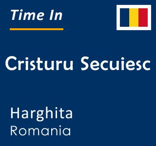 Current time in Cristuru Secuiesc, Harghita, Romania