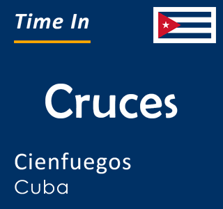 Current time in Cruces, Cienfuegos, Cuba