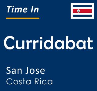 Current time in Curridabat, San Jose, Costa Rica