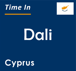 Current time in Dali, Cyprus