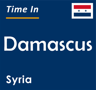 Current time in Damascus, Syria